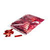 Rectangles Red - Metallic confetti